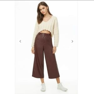Faux Leather Pants - Forever 21